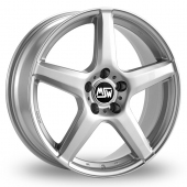 Image for MSW_(by_OZ) 14 Silver Alloy Wheels