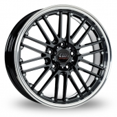 Image for CW_(by_Borbet) CW2_5x112_Wider_Rear Black Alloy Wheels