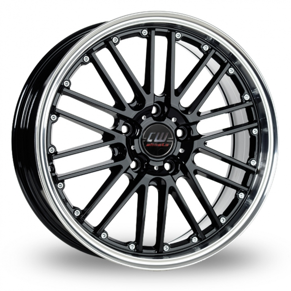 Zoom CW_(by_Borbet) CW2_5x112_Wider_Rear Black Alloys