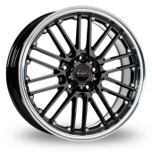 Image for CW_(by_Borbet) CW2_5x120_Wider_Rear Black Alloy Wheels