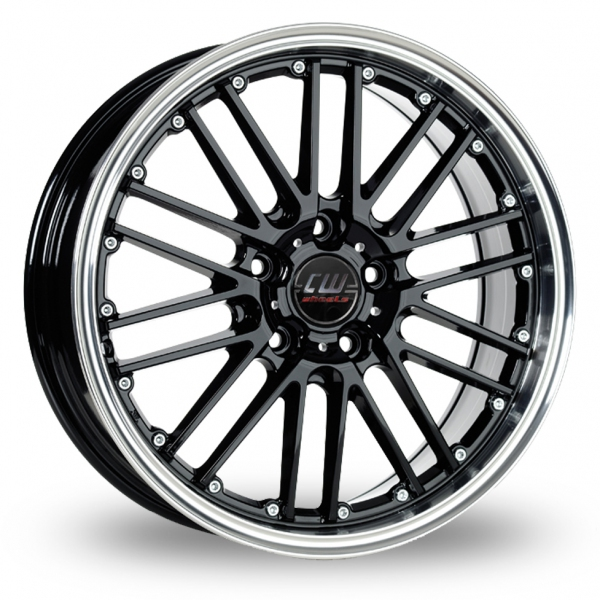 Zoom CW_(by_Borbet) CW2_5x120_Wider_Rear Black Alloys
