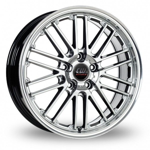 Zoom CW_(by_Borbet) CW2_5x112_Wider_Rear Hyper_Silver Alloys