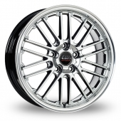 Image for CW_(by_Borbet) CW2_5x120_Wider_Rear Hyper_Silver Alloy Wheels