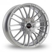 Image for CW_(by_Borbet) CW4 Silver Alloy Wheels