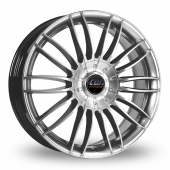 Image for CW_(by_Borbet) CW3 Silver Alloy Wheels
