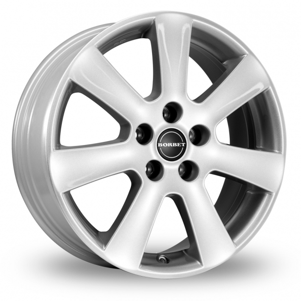Zoom Borbet CA_Wider_Rear Silver Alloys