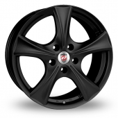 Image for Calibre Trek Black Alloy Wheels