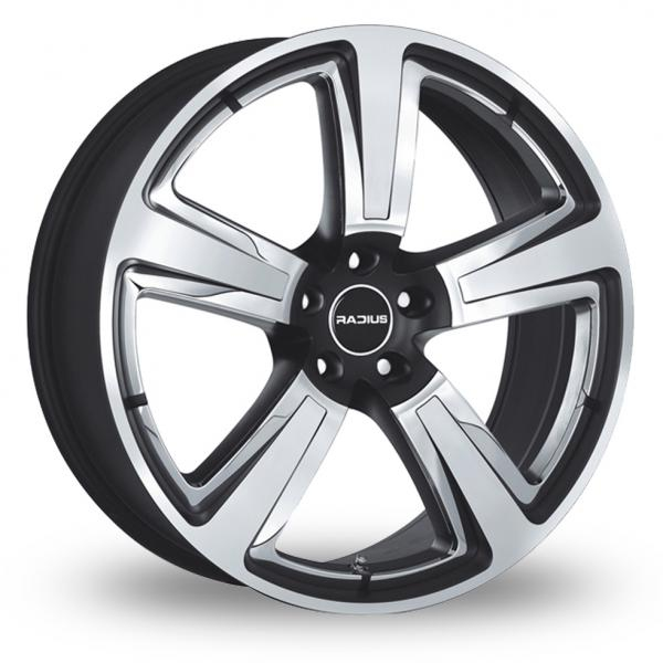 Zoom Radius R15_5x112_Wider_Rear Black_Polished Alloys
