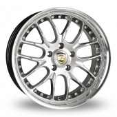 Image for Calibre Excaliber_5x120_Wider_Rear Silver Alloy Wheels