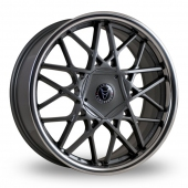 Image for Wolfrace Blitz Gun_Metal Alloy Wheels
