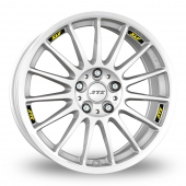 Image for ATS StreetRallye White Alloy Wheels