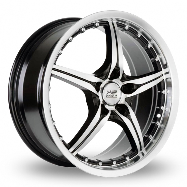 "Picture of 18"" BK 705 Black Alloys"