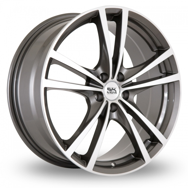 Zoom BK_Racing 182 Gun_Metal_Polished Alloys