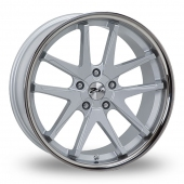 Image for Zito Deepstar Silver Alloy Wheels