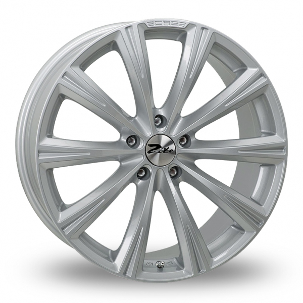 Zoom Zito CRS_5x120_Low_Wider_Rear Silver Alloys