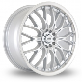 Image for BK_Racing 299 Silver Alloy Wheels