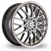 Image for BK_Racing 299 Hyper_Black Alloy Wheels