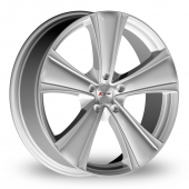 Image for Xtreme X90 Silver Alloy Wheels