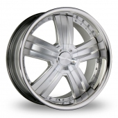 Image for Ace C899_Deluxe Hyper_Silver Alloy Wheels