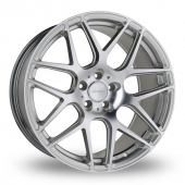 Image for Ace D707_Mesh_7 Silver Alloy Wheels