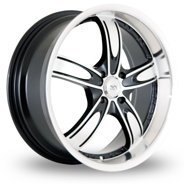 Zoom BK_Racing 525 Black_Polished Alloys