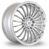 Image for BK_Racing 550 Silver_Polished Alloy Wheels