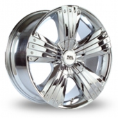 Image for BK_Racing 259 Chrome Alloy Wheels