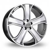 Image for Riva RVR Hyper_Silver Alloy Wheels