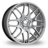 Image for Riva DTM Hyper_Silver Alloy Wheels