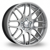 Image for Riva DTM_5x120_Wider_Rear Hyper_Silver Alloy Wheels