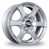 Image for MSW_(by_OZ) 15 Silver Alloy Wheels