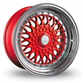 Image for Dare DR-RS Red Alloy Wheels