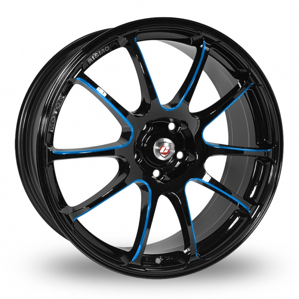Zoom Calibre Friction Black_Blue Alloys