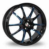 Image for Calibre Friction Black_Blue Alloy Wheels