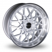 Image for Dare LP560D_5x114_Wider_Rear Silver_Polished Alloy Wheels