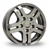 Image for ZCW Goldschmitt_Pro5 Silver Alloy Wheels