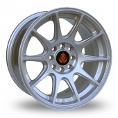 Image for Axe Ex_8ight Silver Alloy Wheels