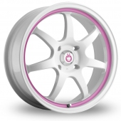 Image for Konig Forward White_Pink Alloy Wheels