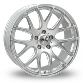 Image for Zito ZL935_5x112_Wider_Rear Hyper_Silver Alloy Wheels