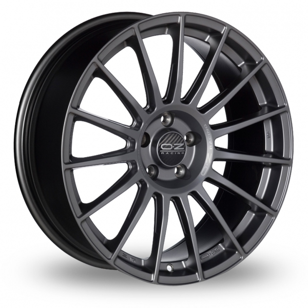 Zoom OZ_Racing Superturismo_LM_5x112_Wider_Rear Graphite Alloys