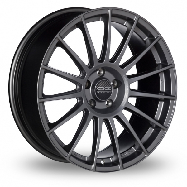 Zoom OZ_Racing Superturismo_LM_5x114_Wider_Rear Graphite Alloys