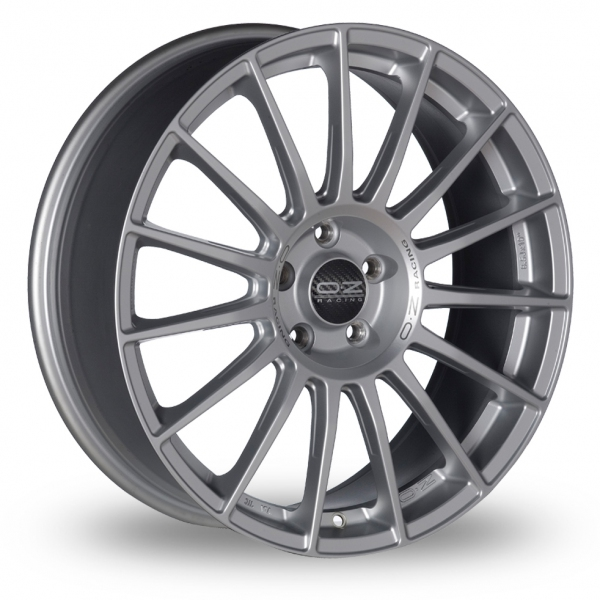 Zoom OZ_Racing Superturismo_LM_5x120_Wider_Rear Silver Alloys