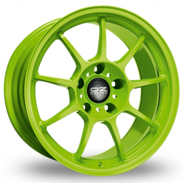 Zoom OZ_Racing Alleggerita_HLT_5x130_Wider_Rear Green Alloys