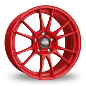 Image for OZ_Racing Ultraleggera_HLT_Wider_Rear Red Alloy Wheels
