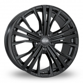 Image for OZ_Racing Cortina Black Alloy Wheels