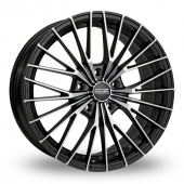 Image for OZ_Racing Ego_5x120_Wider_Rear Black_Polished Alloy Wheels