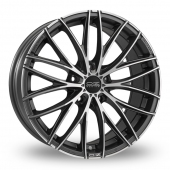 Image for OZ_Racing Italia_150_5_Stud Graphite_Polished Alloy Wheels