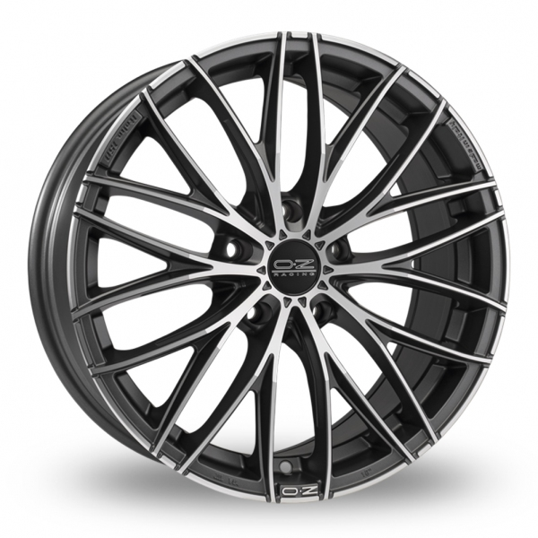 Zoom OZ_Racing Italia_150_5_Stud Graphite_Polished Alloys