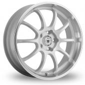 Image for Konig Lightning White Alloy Wheels