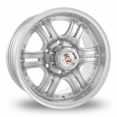 Image for Calibre Terrain Silver Alloy Wheels